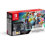 Hybrid Game Consoles Deals Nintendo Switch - Grey - Super Smash Bros. Ultimate