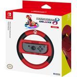 Game Controllers price comparison Hori Nintendo Switch Mario Kart 8 Deluxe Racing Wheel Controller (Mario) - Black/Red