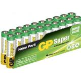AAA (LR03) Batteries and Chargers price comparison GP Batteries AAA Super Alkaline 20-pack