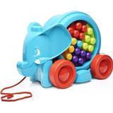 Pull Toy price comparison Fisher Price Mega Bloks Building Basics Elephant Parade