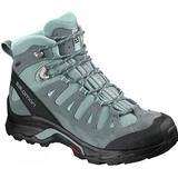 Hiking Shoes Salomon Quest Prime GTX W - Lead/Stormy Weather/Eggshell Blue