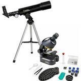 Telescope National Geographic Telescope & Microscope Set