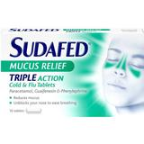 Cold Sudafed Mucus Relief Triple Action 16pcs