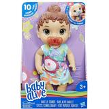 Talking Dolls Talking Dolls price comparison Hasbro Baby Alive Baby Lil Sounds Interactive Brown Hair Baby Doll E3688