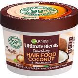 Hair Mask Garnier Ultimate Blends Hair Food Smoothing Coconut & Macadamia 3-in-1 Hair Mask 390ml
