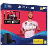 Playstation 4 console pro Game Consoles Deals Sony PlayStation 4 Pro 1TB - FIFA 20 Bundle