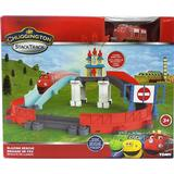 Chuggington Toys Tomy Chuggington Blazing Rescue Train Track