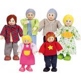 Dollhouse dolls Hape Happy Family Caucasian