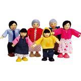 Dollhouse dolls Hape Happy Family Asian