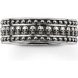 Rings on sale Thomas Sabo Rebel At Heart Mini Döskallar Ring Oxiderat Silver