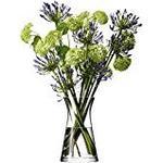 LSA International Flower Mixed Bouquet Vase Clear 29cm