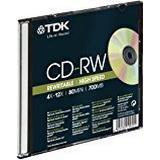 TDK CD-RW 700MB 12x Jewelcase 5-Pack