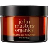 Styling Products John Masters Organics Sculpting Clay Medium Hold 60g