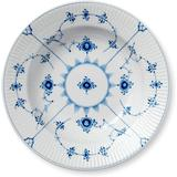 Soup Plates Royal Copenhagen Blue Fluted Plain Soup Plate 23 cm