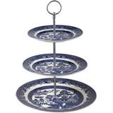 Cake Stand Churchill Blue Willow 3 Tier Cake Stand