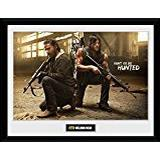 Framed Art GB Eye The Walking Dead Rick & Daryl Hunt 30x40cm Art