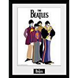 Framed Art GB Eye The Beatles Yellow Submarine Group 30x40cm Art