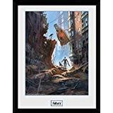 GB Eye Fallout 4 Street Scene 30x40cm Framed art