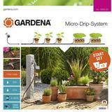Irrigation Gardena Micro Drip System Starter Set Plant Pots M Automatic