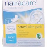 Menstrual Pads Natracare Maxi Natural Bind Super 12-pack
