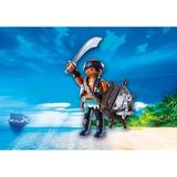Playmobil pirate Toy Figures Playmobil Pirate with Shield 9075