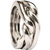 Rings Trollbeads Strength Courage Wisdom Ring - Silver