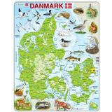 Classic Jigsaw Puzzles Larsen Denmark Physical with Animals 66 Pieces