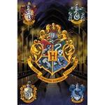 GB Eye Harry Potter Crests Maxi 61x91.5cm Poster