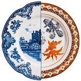 Dinner Plates Seletti Hybrid Isaura Dinner Plate 27.5 cm