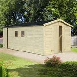 Small Cabin Palmako Dan 14.2 m² (Building Area 14.2 m²), Base Kit