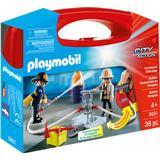 Play Set Accessories Playmobil Fire Rescue Carry Case 5651