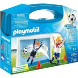 Play Set Accessories Playmobil Soccer Shootout Carry Case 5654