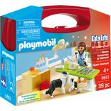 Play Set Accessories Playmobil Vet Visit Carry Case 5653