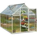Freestanding Greenhouses Palram Mythos 6m² Aluminum Polycarbonate