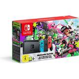Hybrid Deals Nintendo Switch - Red/Blue - 2017 - Splatoon 2