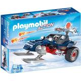 Playmobil pirate Toy Vehicles Playmobil Ice Pirate with Snowmobile 9058