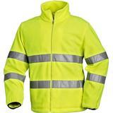 3XL - Fleece Jacket Work Jacket Blåkläder 4833 High Vis Fleece Jacket