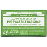 Bar Soaps Dr. Bronners Pure-Castile Bar Soap Green Tea 140g