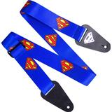 Accessories Access All Areas Superman Logo Fabric Guitar Strap