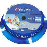 Verbatim BD-R 25GB 6x Spindle 10-Pack Wide