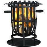 Fire Basket La Hacienda Vancouver Firebasket with Grill 56cm