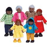 Dollhouse dolls Hape Happy Family African American