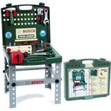 Bosch workbench Toys Klein Bosch Tool Shop Foldable Workbench 8681
