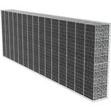 vidaXL Gabion Wall with Cover 600x50x200cm