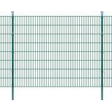 vidaXL 2D Garden Fence Panel & Posts 2mx163cm