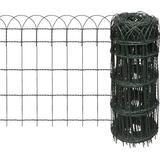 Welded Wire Fence vidaXL Expandable Garden Lawn Edging Border Fence 10mx65cm