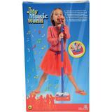 Accessories Simba My Music World Mikrofon med Stativ Singalong