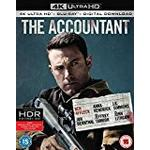 The Accountant [4k Ultra HD + Blu-ray + Digital Download] [2016]