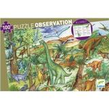 Classic Jigsaw Puzzles Djeco Discover The Dinosaurs 100 Pieces