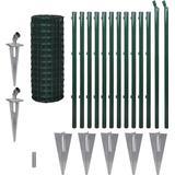 Fence Kits vidaXL Set Spike Euro Fence 25mx100cm